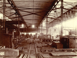 Point, Crossing and Signal Shop - General View [Jamalpur Railway Workshop].